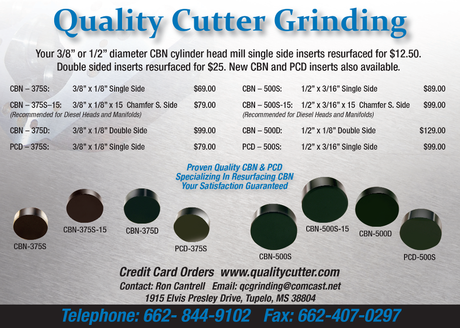 Quality Cutter Grinding
